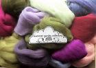 100g Wool Roving  / Merino, Corriedale British, Natural, Needle felting