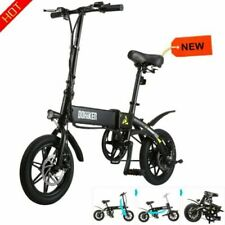 25Km/h LED Display Folding Electric Bike Moped Bicycle City E-Bike 250W Black EU