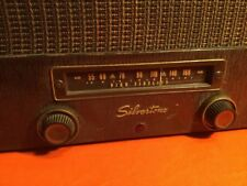1950'S SILVERTONE RECORD PLAYER TUBE AMP(MADE IN USA) RADIO