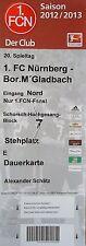 Ticket 2012/13 1. FC Núremberg-Mönchengladbach