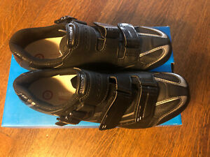 New-in-Box SHIMANO SH-WR42L Women's Road Bike Shoes 43EU, 10.4US, 27.2cm - Black