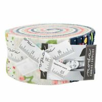 "Moda Orchard Jelly Roll 2.5"" Fabric Quilting Strips April Rosenthal 24070JR, J13"