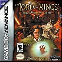 The Lord of the Rings: Fellowship of the Ring - Nintendo Game Boy Advance