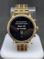 Fossil FTW6035 Julianna Gen5 44mm Stainless Rose Gold Smart Watch #50