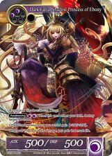 PR2015-035 Dark Faria, Shadow Princess of Ebony Force of WIll Pre-Release