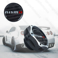 NISMO Black 2 Tone Engine Oil Filler Cap Oil Tank Cover Aluminium For Nissan