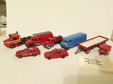 #8tlg Wiking Herpa Kibri Sortimen Anhänger,Feuerwehr,Magirus,Opel,BMW,Scania, RC