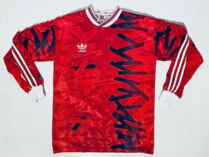 Vintage 1990´s Adidas Template Schalke 1992 - 1993 Away Football Shirt Adult S