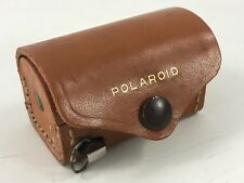 VINTAGE POLAROID CLOSE UP LENS KIT WITH LEATHER CASE & TAPE MEASURE & 3 LENSES