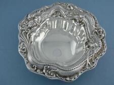 Unusual Sterling MERIDEN BRITANNIA CO Bowl / Dish w/ DRAGON ornate