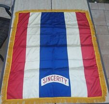 Rare Companions of the Forest of America (C.O.F of A.) Sincerity Silk Banner