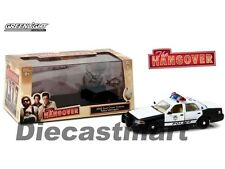 "GREENLIGHT 1:43 2000 FORD CROWN VICTORIA POLICE INTERCEPTOR ""THE HANGOVER"" 86506"