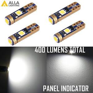 LED 73 T5 Ash Tay|Courtesy| Panel|High Beam Parking Brake Indicator Light Bulb