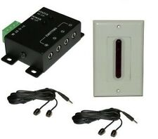 Deluxe Long Range Remote Control Extender controls 4 devices up to 80' & 45 deg