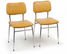 2 Stahlrohr-Küchen-Stühle SEVENTIES Stuhl midcentury modern chairs vintage