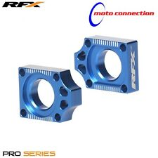 RFX Pro Serie Swingarm Azul Eje Bloques Yamaha YZ125 YZ250 2009 - 2018 40200