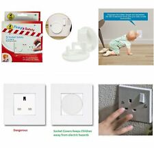First Steps 12 Home Safety Plug Socket Covers Baby & Child Proof Protector Guard