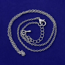 Metal chains bulk necklace chain Gift for Her Handmade wholesale 20pcs