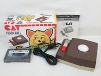 MSX Controller CAT TRACK BALL + Eddy HTC-001 Boxed NEAR MINT JAPAN Game 3040