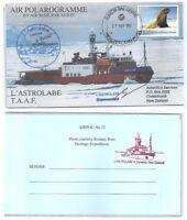 Antarctica • New Zealand/Ross Dependency • 2012 • Air Polarogramme • L'Astrolabe