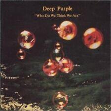 DEEP PURPLE (ROCK) - WHO DO WE THINK WE ARE [UK BONUS TRACKS] NEW CD