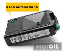 8 Liter Öl-AUFFANGWANNE NeverStop Schwarz Altölwanne Ölwanne Werkstattwanne