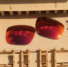 ACOMPATIBLE Polarized Replacement Lenses for-Oakley Mainlink OO9264 - Fire Red