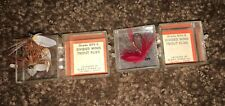 Vintage Glen L. Evans Divided Wing Trout Flies 899-E New in box Stock