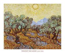 LANDSCAPE ART PRINT - Olive Trees, 1889 by Vincent van Gogh Forest Poster 28x34