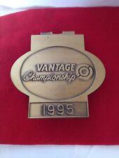 RARE 1995 VINTAGE CHAMPIONSHIP GOLF TOUR PAK COLLECTIBLE GOLD TONE MONEY CLIP