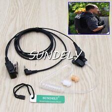 Acoustic Headset/Earpiece For Uniden Radio PMR845 PMR885 GMR2638 GMR3040 GMR3040