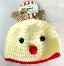 New! So Dorable Crochet Hat Knit Hat 0-6M Baby Beanie Hat New Born Babies Warm
