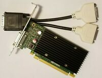 Dell Optiplex 3010 7010 9010 NVIDIA NVS 300 Dual DVI Monitor Video Graphics Card