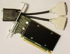 Dell Optiplex 3010 7010 9010 NVIDIA NVS 300 Dual DVI Monitor Video Graphics Card