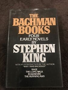 Stephen King The Bachman Books : Four Early Novels 1985 Hardcover Book