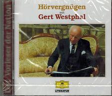 CD Hörbuch - Hörvergnügen mit Gert Westphal,NEU O.V.P ,Deutsche Grammophon
