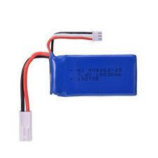 2 un. 7.4V 1500mAh el Plug Lipo Batería para Control remoto RC barco FT009 FX067C