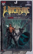 WITCHBLADE. KENNETH IRONS FIGURE. CLAYBURN MOORE SCULPT. TOP COW. NEW ON CARD.