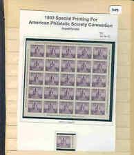 s3099 Stamp Accumulation US USA Scott 731 MNH