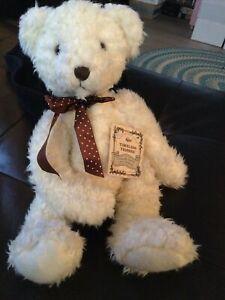"""Timeless Teddies Russ Berrie Butterworth Bear 15"""""""
