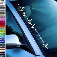 Performance Aufkleber Auto Lebenslinie Herzschlag Sticker Automotiv F28