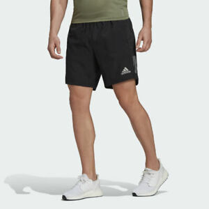 Running Shorts Mens Adidas Own The Run Sustainable Fitness Gym Zip Pockets