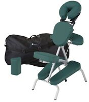 Earthlite Vortex Lightweight Portable Massage Chair Package with Carry Case NEW