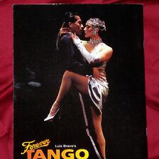 Exciting 'FOREVER TANGO' 1997 Souvenir Program - Mint!