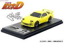1 43 Modeler's hi story Mazda RX-7 FD3S Yellow INITIAL D PROJECT D Takahashi