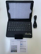Bluetooth Keyboard Silm Case Cover For Ipad Mini 3/2/4 With Charging Cord, #s199