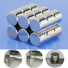 5pcs N42 12mm X 10mm Super Strong Round Magnets Disc Rare Earth Neodymium Magnet