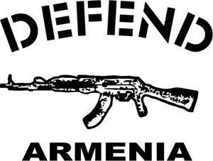 Defend Armenia Beautiful decal for cars, walls, in different sizes