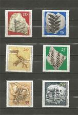EAST GERMANY - 1973 Natural History Museum Pieces - MINT UNHINGED SET.