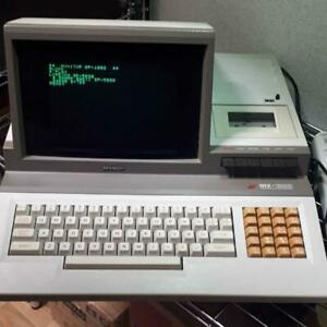 MZ-1200 SHARP Junk PC Personal Computer 1990s Operation not Confirmed F/S Japan